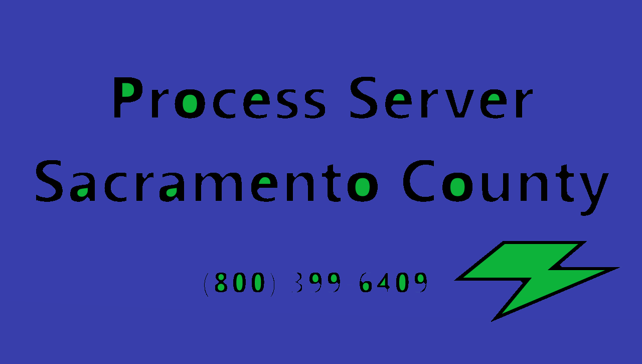 sacramento process servers