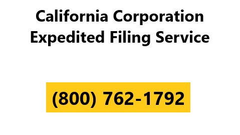California Corporation Expedited Filing Service2