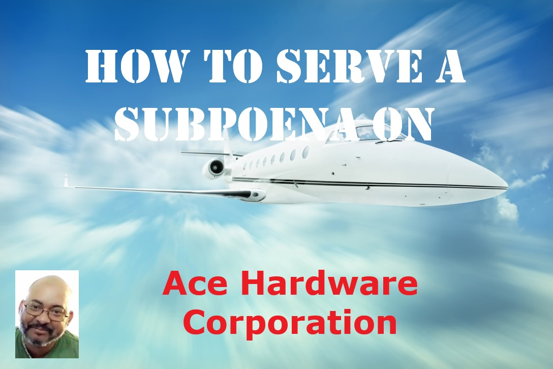 Ace Hardware Subpoena